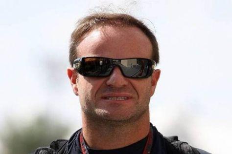 Rubens Barrichello wird auch im kommenden Jahr für Williams fahren