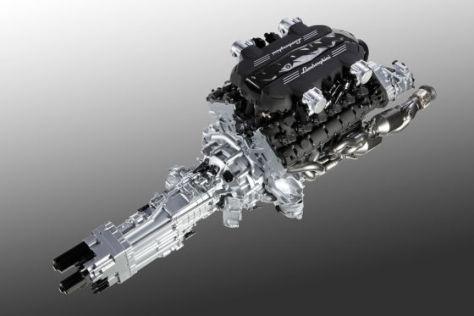 Neuer Lamborghini 6,5-Liter- V12-Motor