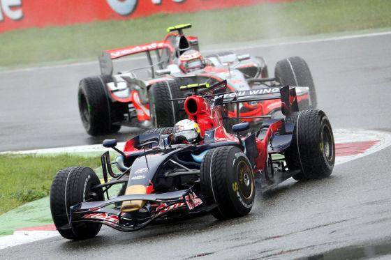 Sebastian Vettel im F1-Auto