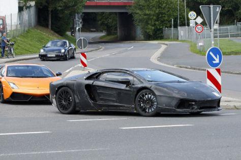 Erlkönig Lamborghini Aventador