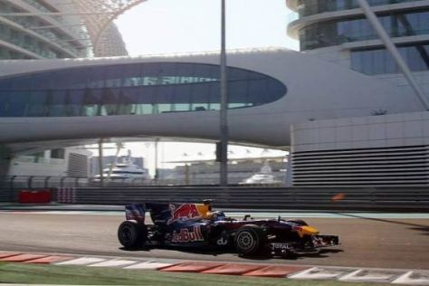 Daniel Ricciardo bestimmte die Testfahrten am Dienstag in Abu Dhabi