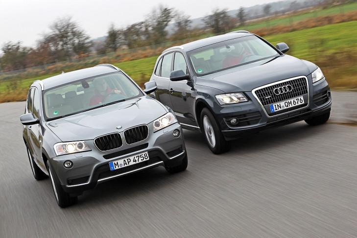 SUV-Vergleich: BMW X3 gegen Audi Q5