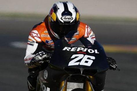 Dani Pedrosa wünscht sich von Honda weitere Verbesserungen am Motor