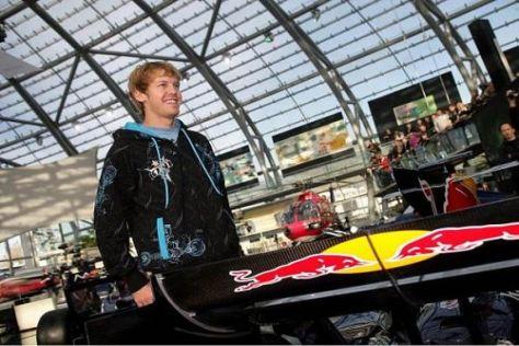 Sebastian Vettel fühlt sich in der Familie von Red Bull gut aufgehoben