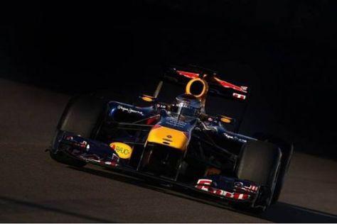 Fünf Tage nach dem WM-Titel schon wieder im Cockpit: Sebastian Vettel