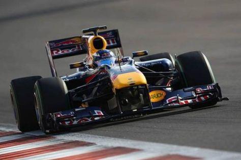 Daniel Ricciardo ist bei den Tests im Weltmeisterauto schnelle Zeiten gefahren