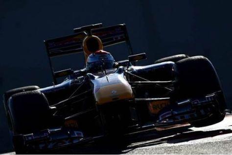 Sebastian Vettel platzierte sich am Samstag auf Platz drei des Klassements