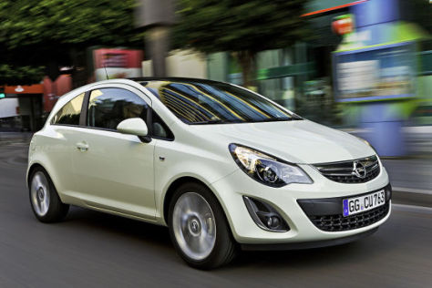 Opel Corsa Facelift (2011)