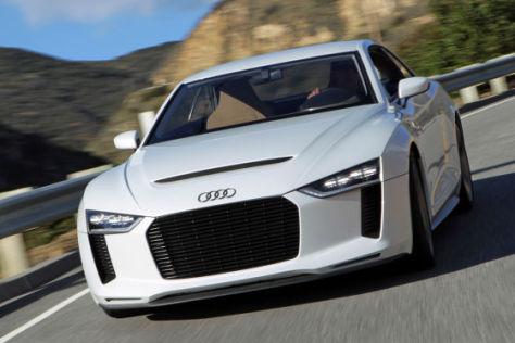 Audi quattro concept: Fahrbericht