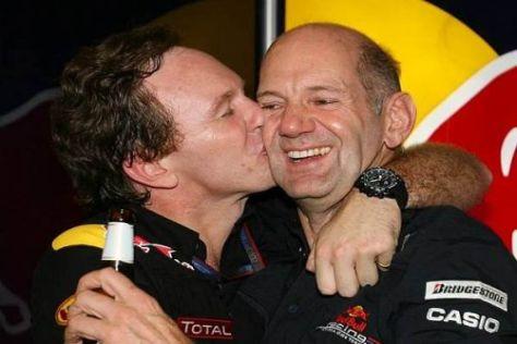 Christian Horner und Adrian Newey haben Red Bull zum Erfolg geführt