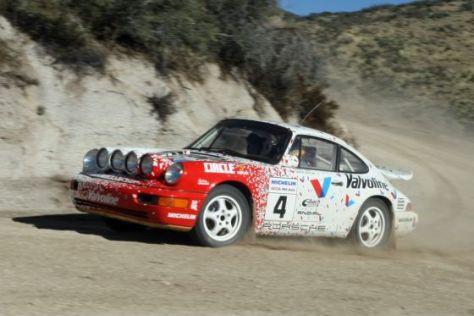 Porsche 964 Rally Car