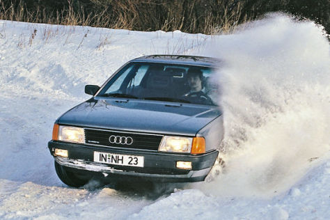 Audi 100 CS quattro Typ 44