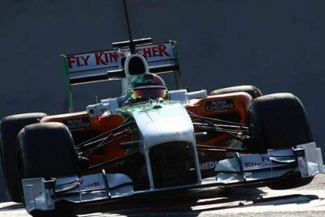 Liuzzi glaubt nicht, dass er beim Pirelli-Test letztmals im Force India saß