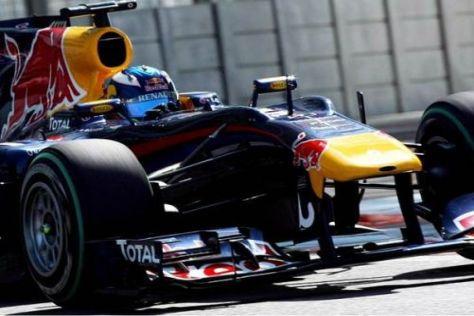 Durch die verbesserten Gripverhältnisse pulverisierte Ricciardo Vettels Bestzeit