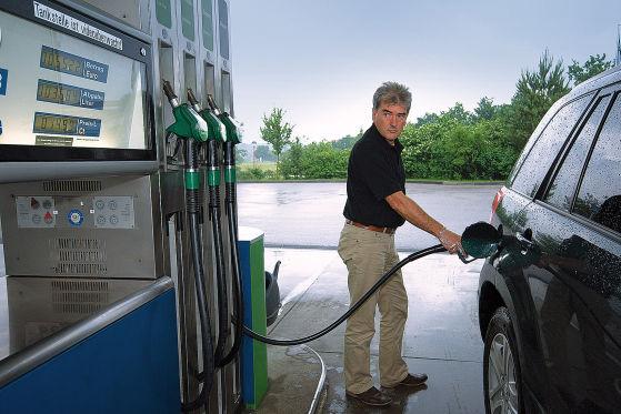 Welches Öl in den Motor die Gazelle das Benzin zu überfluten