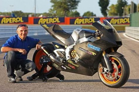 Der MotoGP-Prototyp von Eskil Suter hat ein problemloses Rollout absolviert