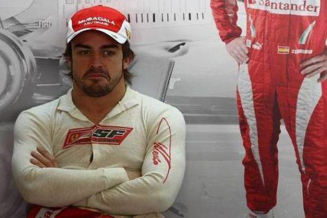 Fernando Alonso kennt inzwischen die Namen aller Ferrari-Mechaniker