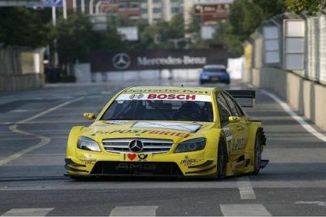 David Coulthard war am schnellsten in den Straßen von Schanghai unterwegs