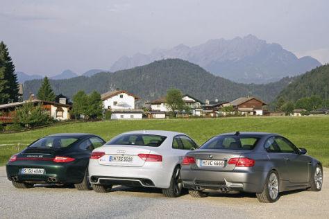 Audi RS5 BMW M3 Porsche 911