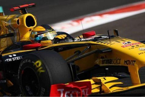 Robert Kubica war 2010 die unumstrittene Nummer eins beim Renault-Rennstall