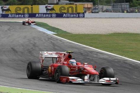 Alonso führt in Hockenheim vor Massa dank eines Funkspruchs