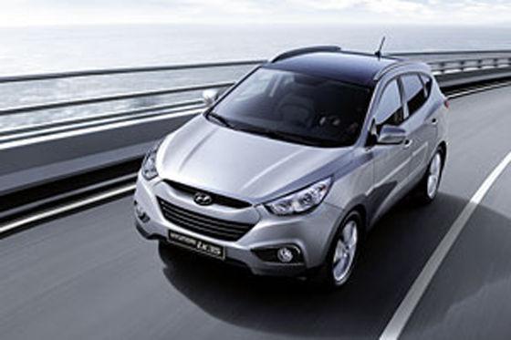 Umweltschonend, sparsam und schon ab 20.390 Euro zu haben: der Hyundai ix35.