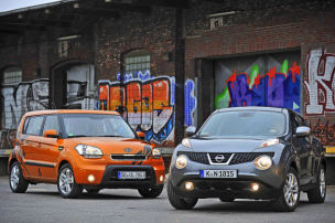 Kia soul i for Nissan juke dauertest