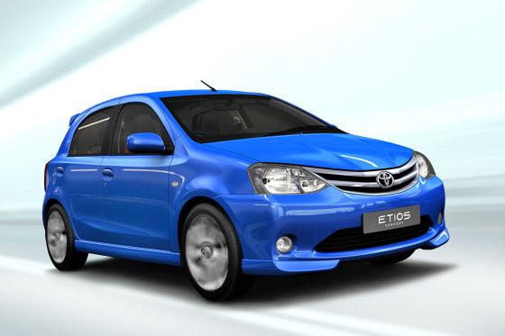 Toyota Etios Schrägheck Liva