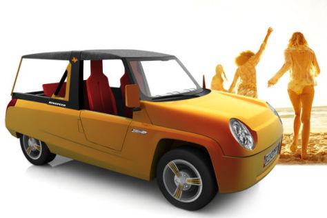 Rinspeed BamBoo, Golfcar Studie Genfer Autosalon 2011