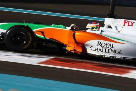 Paul di Resta möchte 2011 nicht nur bei Tests zum Formel-1-Einsatz kommen...