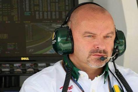Mike Gascoyne stößt der Streit um den Lotus-Namen sauer auf