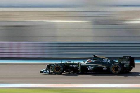 Das Lotus-Team wird 2011 anfangs nicht auf KERS-Technologie zurückgreifen