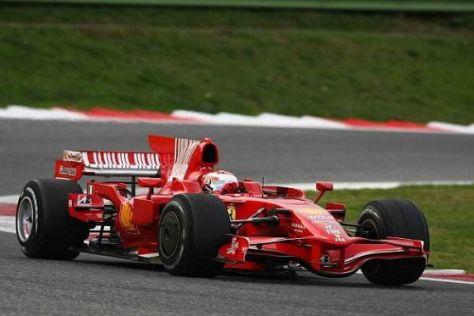 Andrea Caldarelli und seine Konkurrenten testeten den Ferrari F2008 in Vallelunga