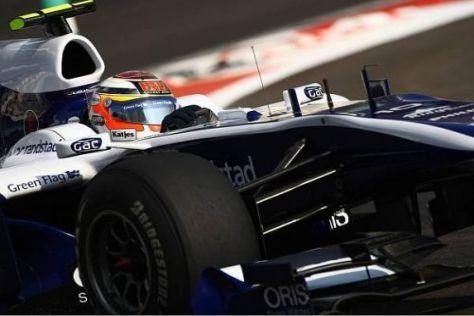 Nico Hülkenberg bestritt in Abu Dhabi sein vorerst letztes Rennen für Williams