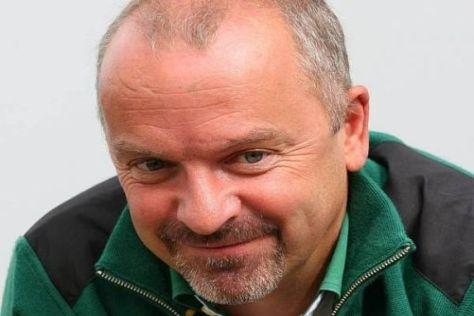 Technikdirektor Mike Gascoyne sieht langfristig eine positive Zukunft für Lotus