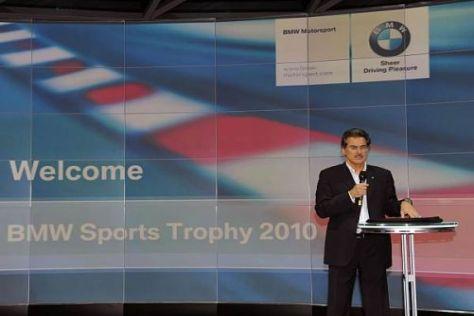 BMW Motorsport Direktor Mario Theissen bei der BMW Sportpokal Verleihung 2010