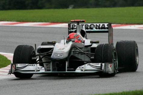 Michael Schumacher und Mercedes waren in der abgelaufenen Saison nicht siegfähig