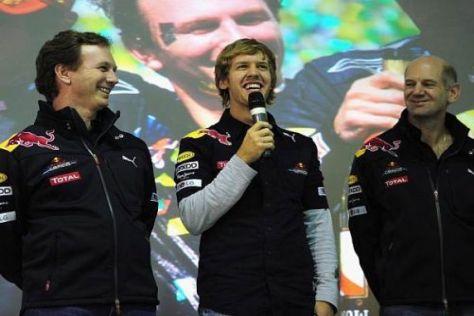 Die Red-Bull-Mannschaft räumte auch in Birmingham kräftig ab