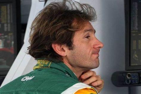 Jarno Trulli musste im Debütjahr von Lotus einige Kröten schlucken