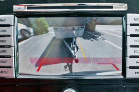 Rückfahrkamera im Ford S-Max