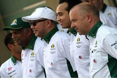 Technikchef Mike Gascoyne ist stolz auf seine Lotus-Truppe