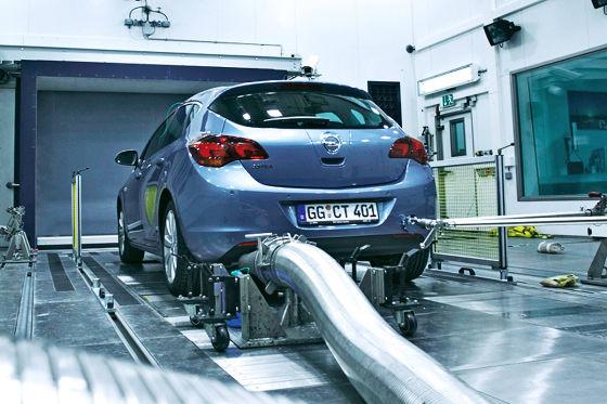 Opel Astra im Klimatest