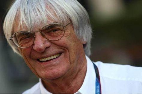 Nimmt Formel-1-Zampano Bernie Ecclestone den Überfall zu leicht?