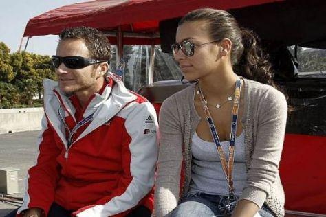 Kaum Zeit für Zweisamkeit: Timo Scheider und seine Freundin Jessica