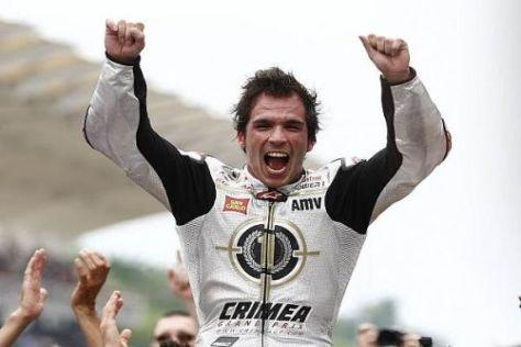 Toni Elias war der einzige Grand-Prix-Champion, der seinen Preis abholte