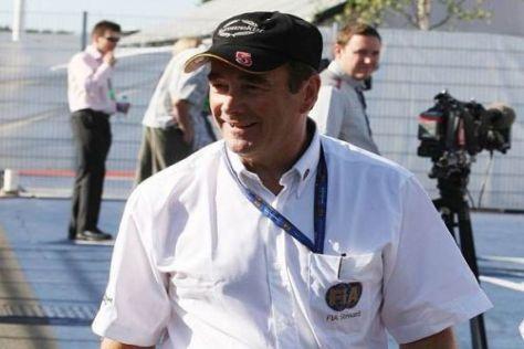 Nigel Mansell war beispielsweise in Silverstone im FIA-Einsatz