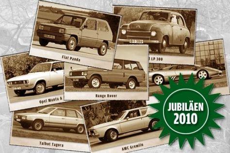 Auto-Jubiläen 2010