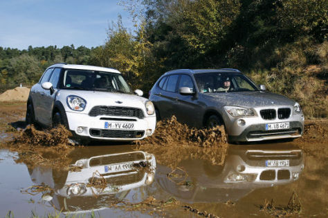 BMW X1 Mini Countryman