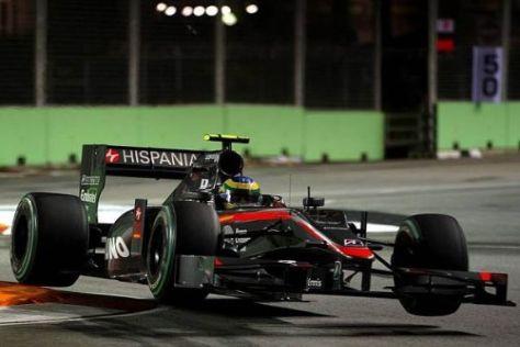 Bruno Senna: Fliegt er nach nur einem Jahr aus der Formel 1?
