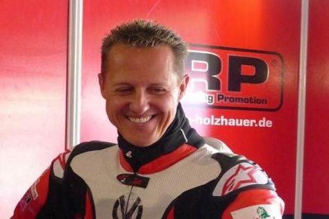 Das Interview mit Michael Schumacher gibt es auch im TV zu sehen
